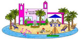 Resort clipart