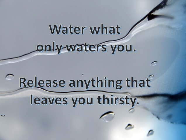 IF What waters