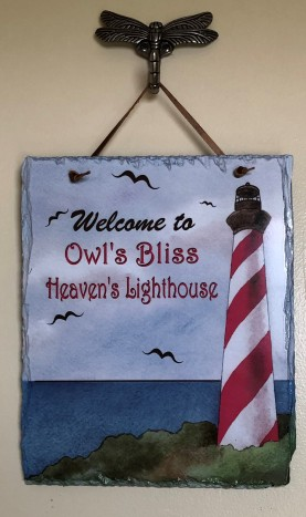 Heaven's Lighthouse Placque