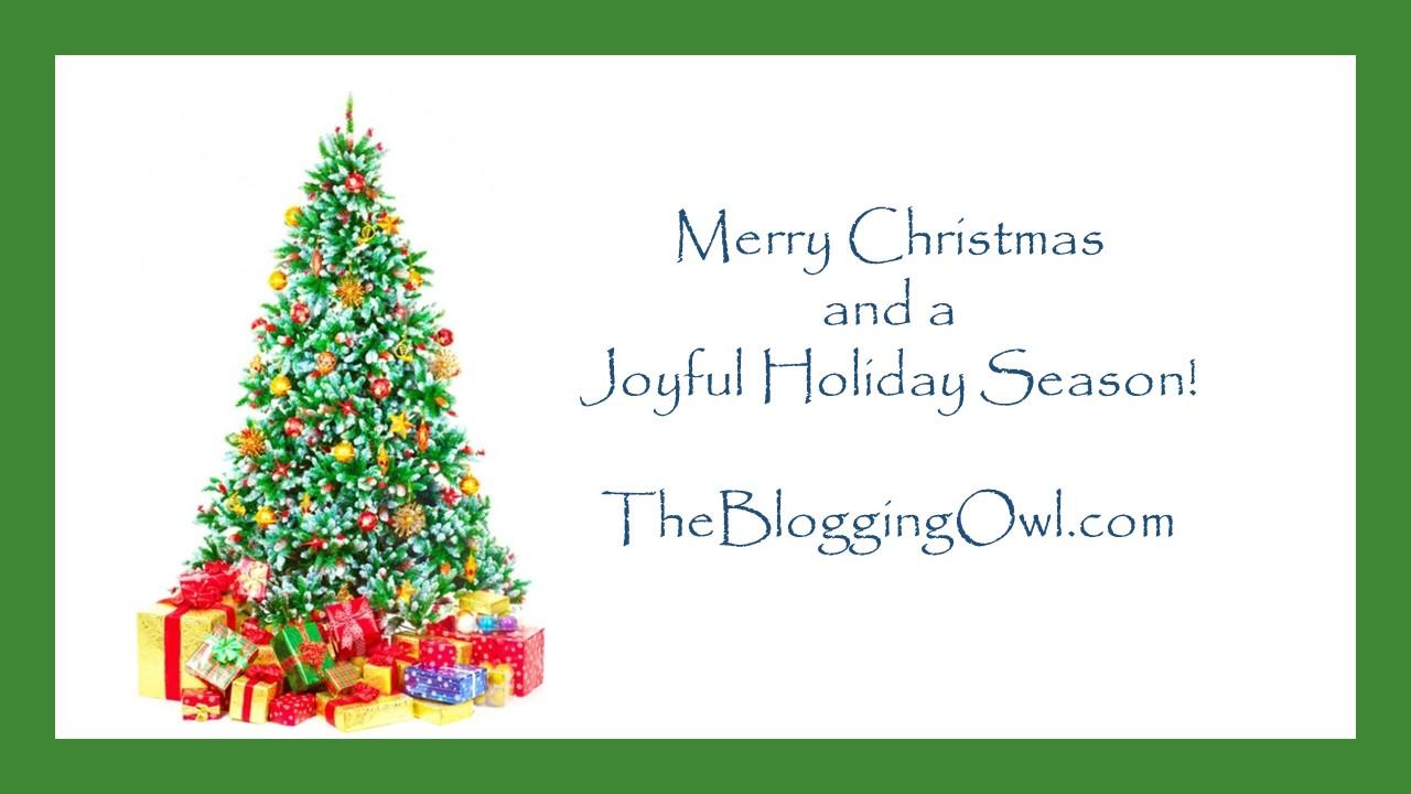 Christmas 2020 Blogging Owl